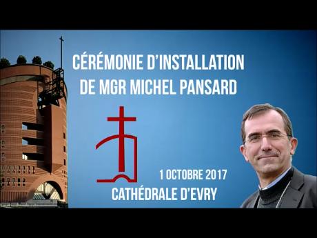 Installation de Mgr PANSARD : la cérémonie est en ligne