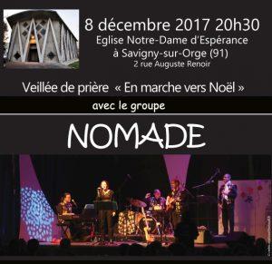 """""""En marche vers Noël"""" veillée de l'Avent le vendredi 8 décembre"""