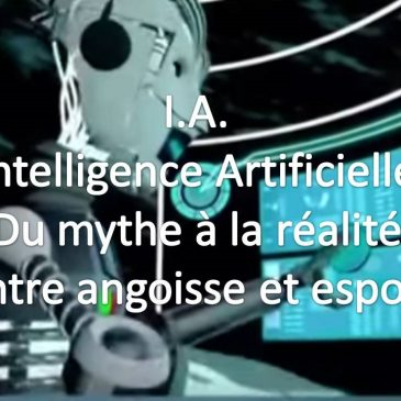 I.A. : Intelligence Artificielle