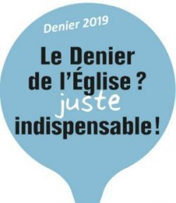 DENIER DE L'EGLISE – 2019 –