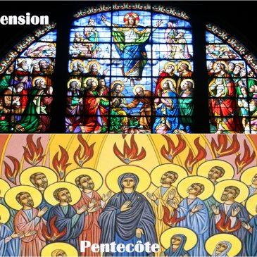 Fêtes de l'Ascension et de la Pentecôte : Horaires des messes