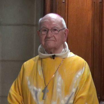 Décès de Mgr Guy HERBULOT, évêque émérite de notre diocèse d'Evry-Corbeil-Essonnes